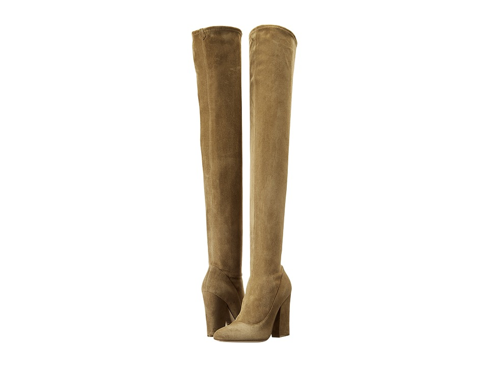 Sergio Rossi - Virginia (Mud Stretch Suede) Women's Boots