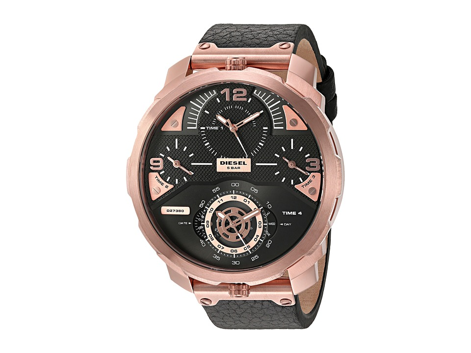 Diesel - Machinus - DZ7380 (Black) Watches