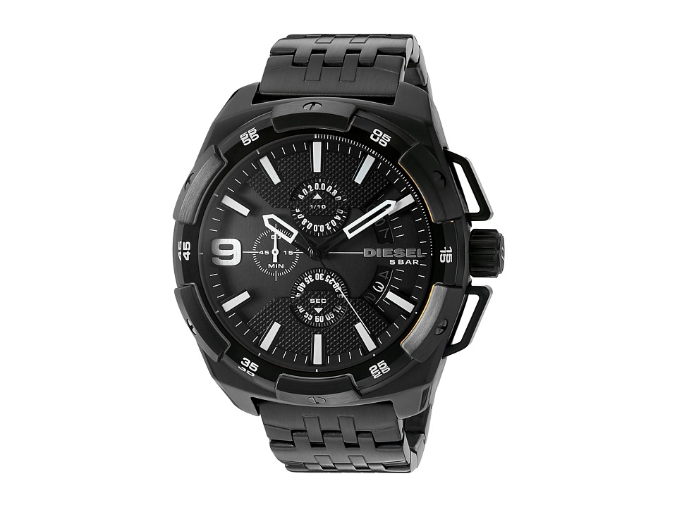 Diesel - Heavyweight - DZ4395 (Black) Watches