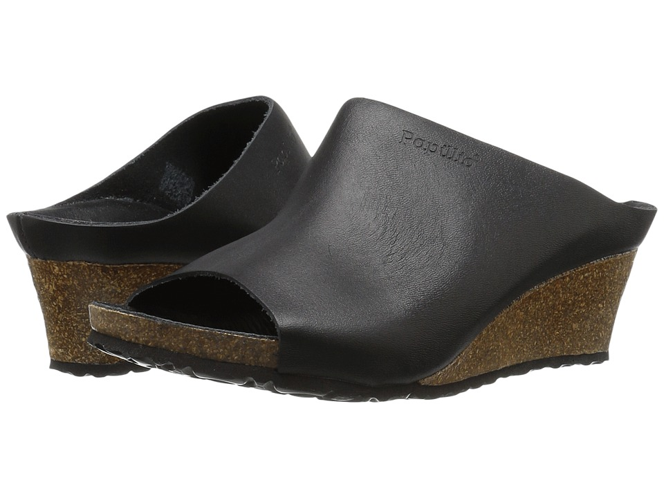 Birkenstock - Debby (Metallic Black Leather) Women's Sandals