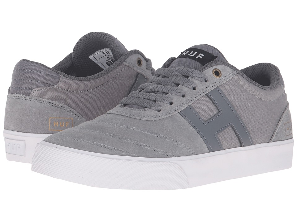 HUF - Galaxy (Mid Grey/White) Men's Skate Shoes