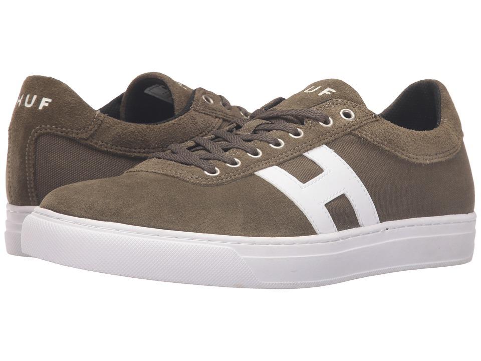 HUF - Soto (Olive) Men's Skate Shoes