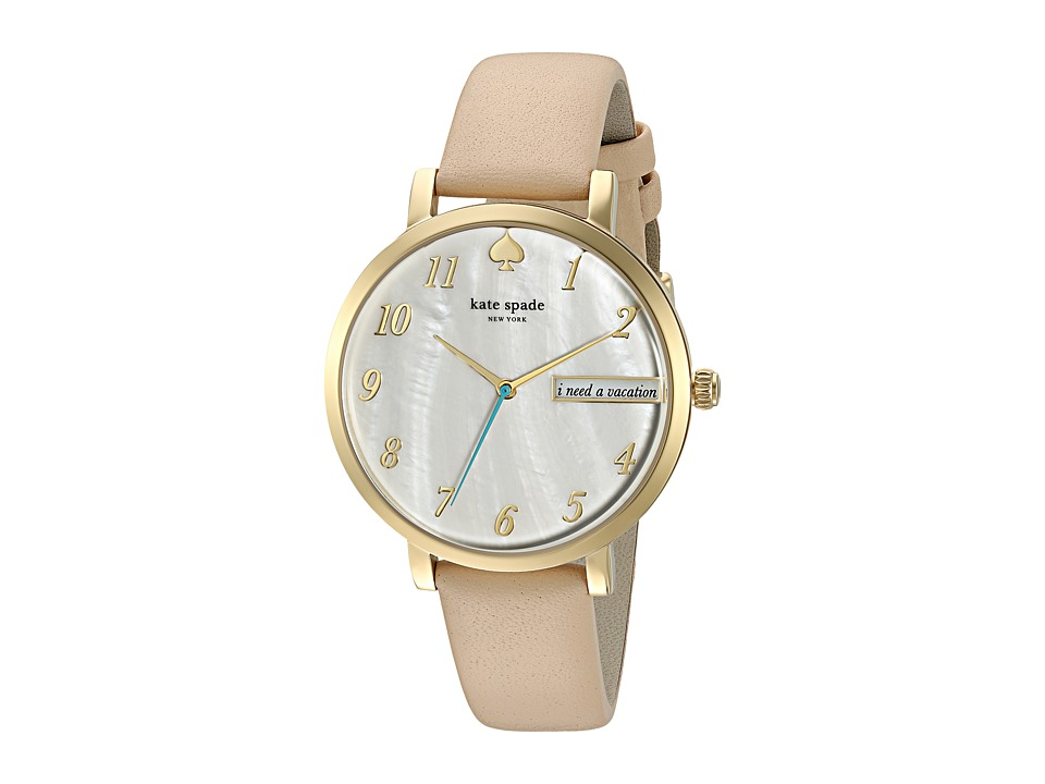 Kate Spade New York - Monterey - KSW1107 (White Mother-of-Pearl) Watches