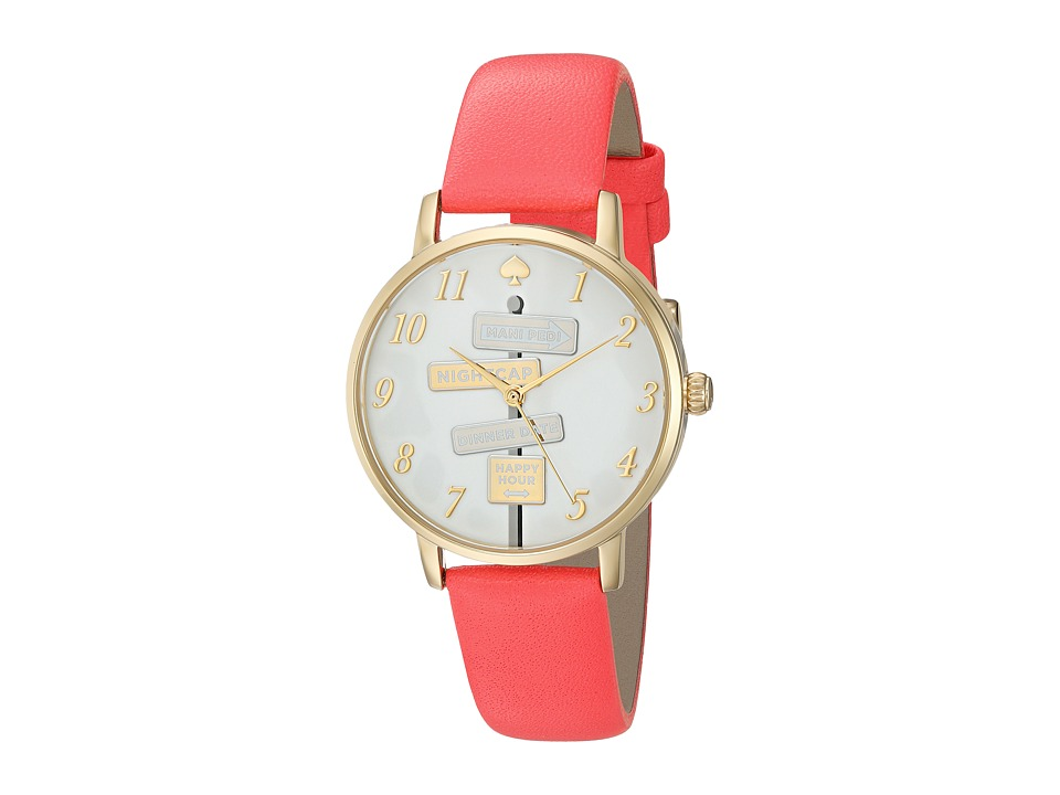 Kate Spade New York - Metro - KSW1127 (White) Watches