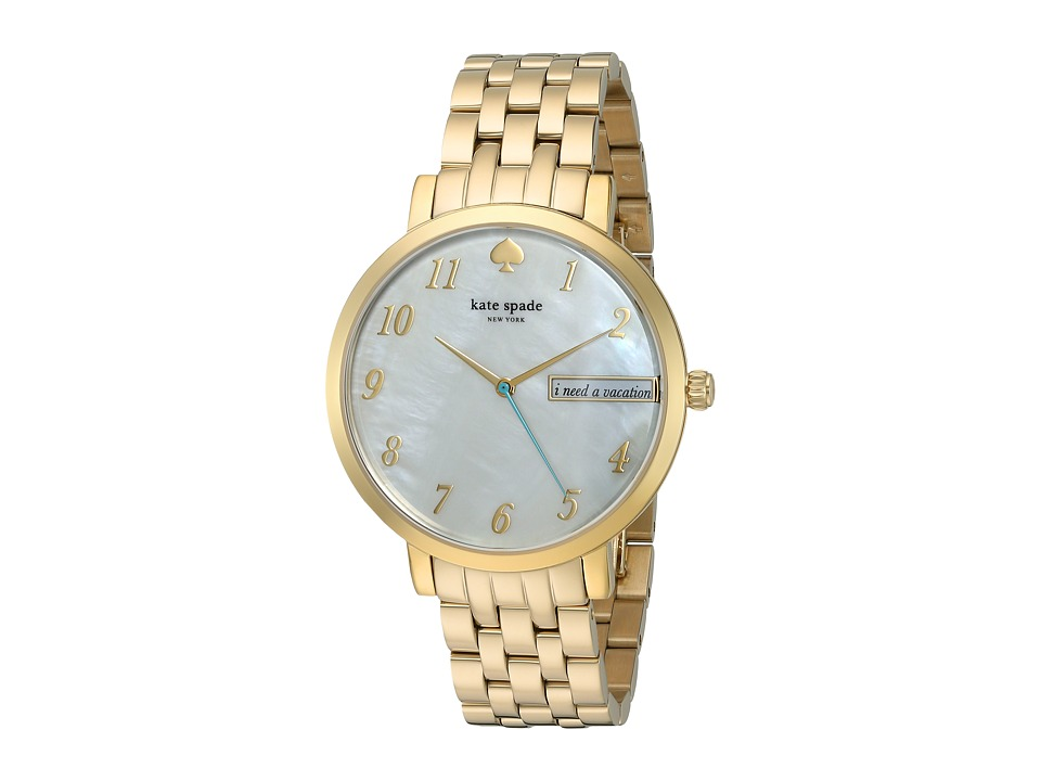 Kate Spade New York - Monterey - KSW1106 (White Mother-of-Pearl) Watches