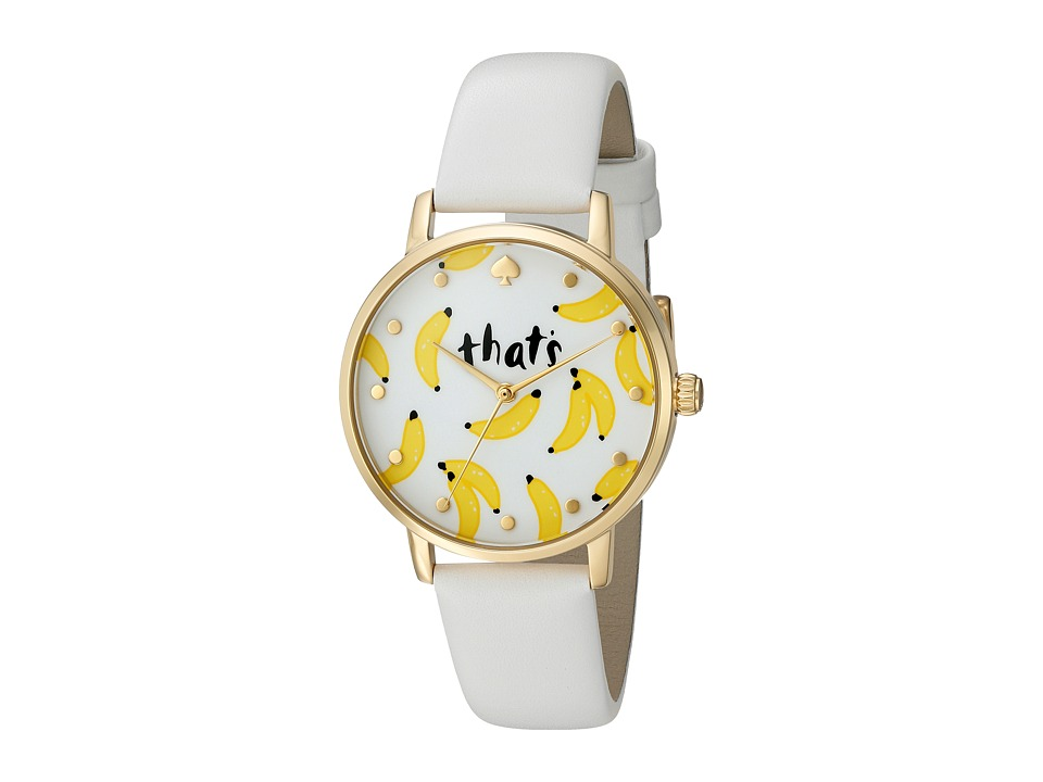 Kate Spade New York - Metro - KSW1122 (White) Watches