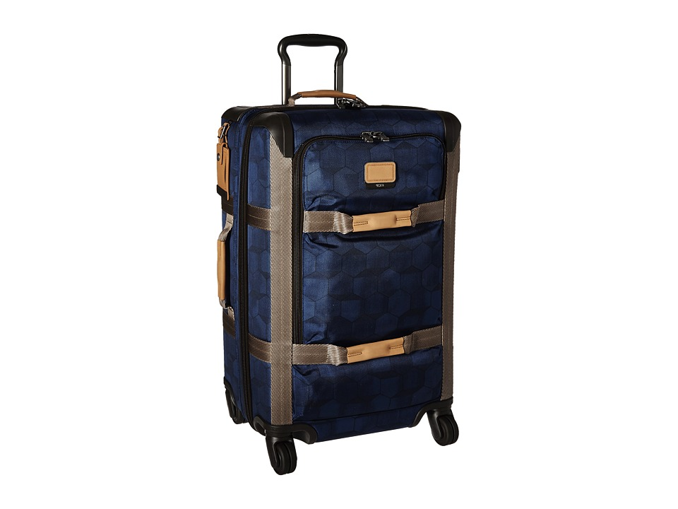 Tumi - Alpha Bravo - Henderson Short Trip Expandable Packing Case (Blue Geo Print) Cosmetic Case