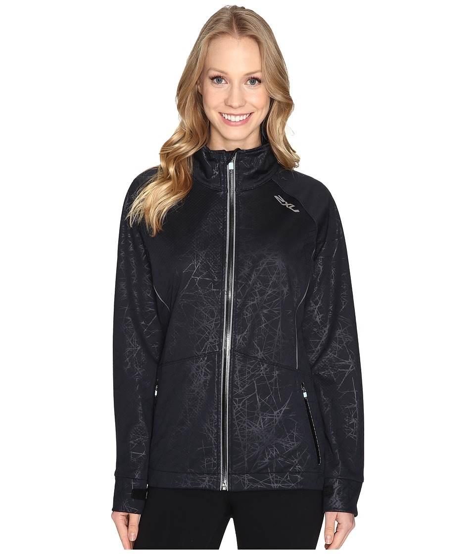 2XU - 23.5 N Jacket (Embossed Black Vein/Soft Cell) Women's Coat