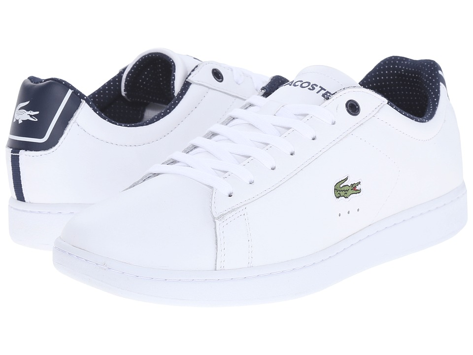 Lacoste - Carnaby Evo 116 1 (White) Women's Lace up casual Shoes
