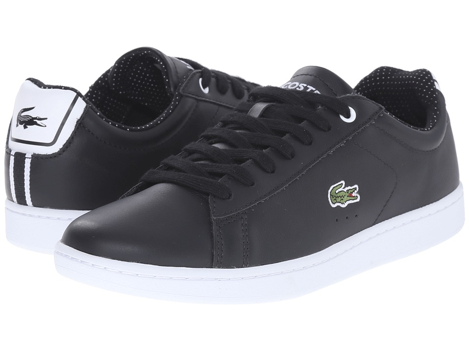 Lacoste - Carnaby Evo 116 1 (Black) Women's Lace up casual Shoes