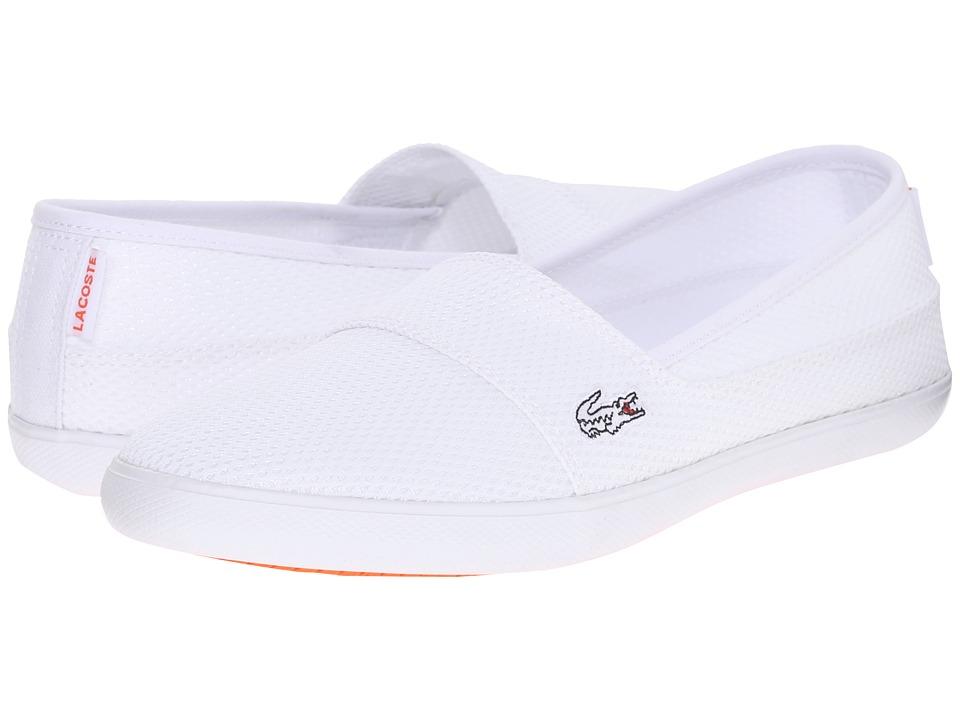 Lacoste - Marice Slip-On 216 1 (White) Women's Slip on Shoes