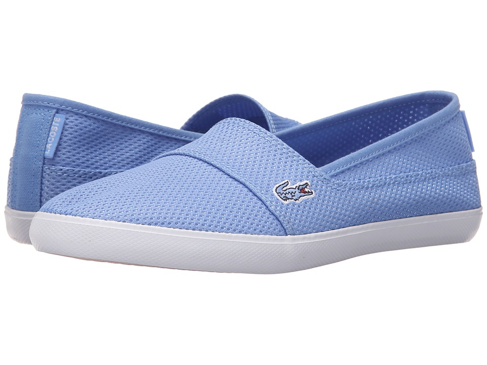 Lacoste - Marice Slip-On 216 1 (Blue) Women's Slip on Shoes