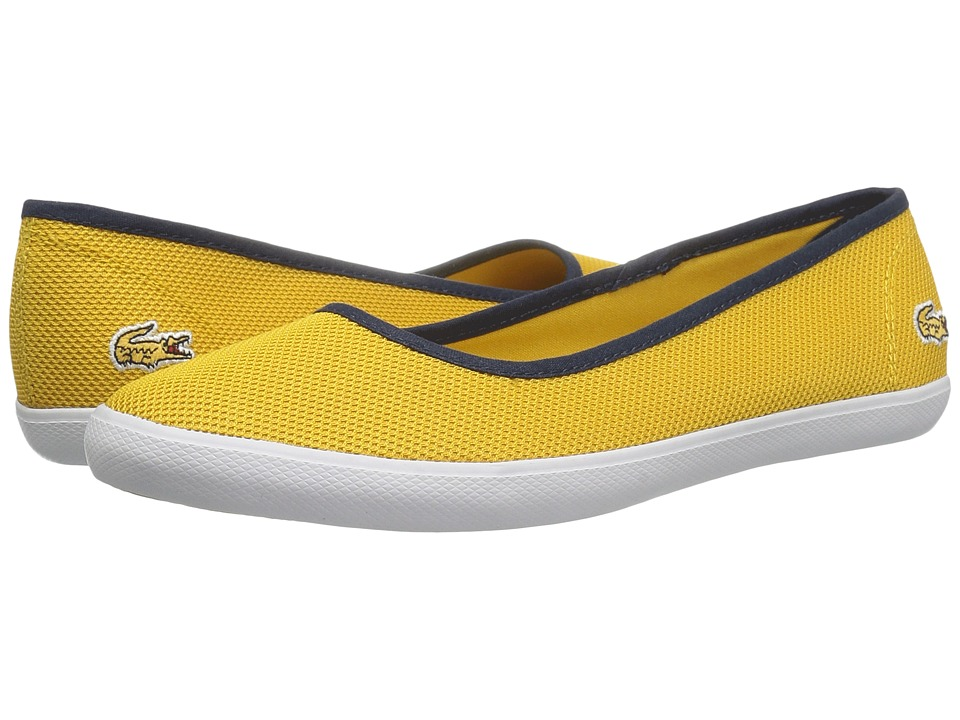 Lacoste - Marthe Slip-On 216 1 (Yellow) Women's Slip on Shoes