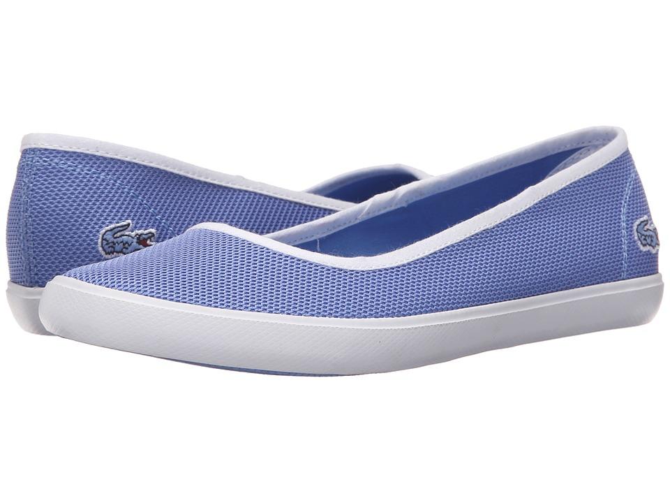 Lacoste - Marthe Slip-On 216 1 (Blue) Women's Slip on Shoes