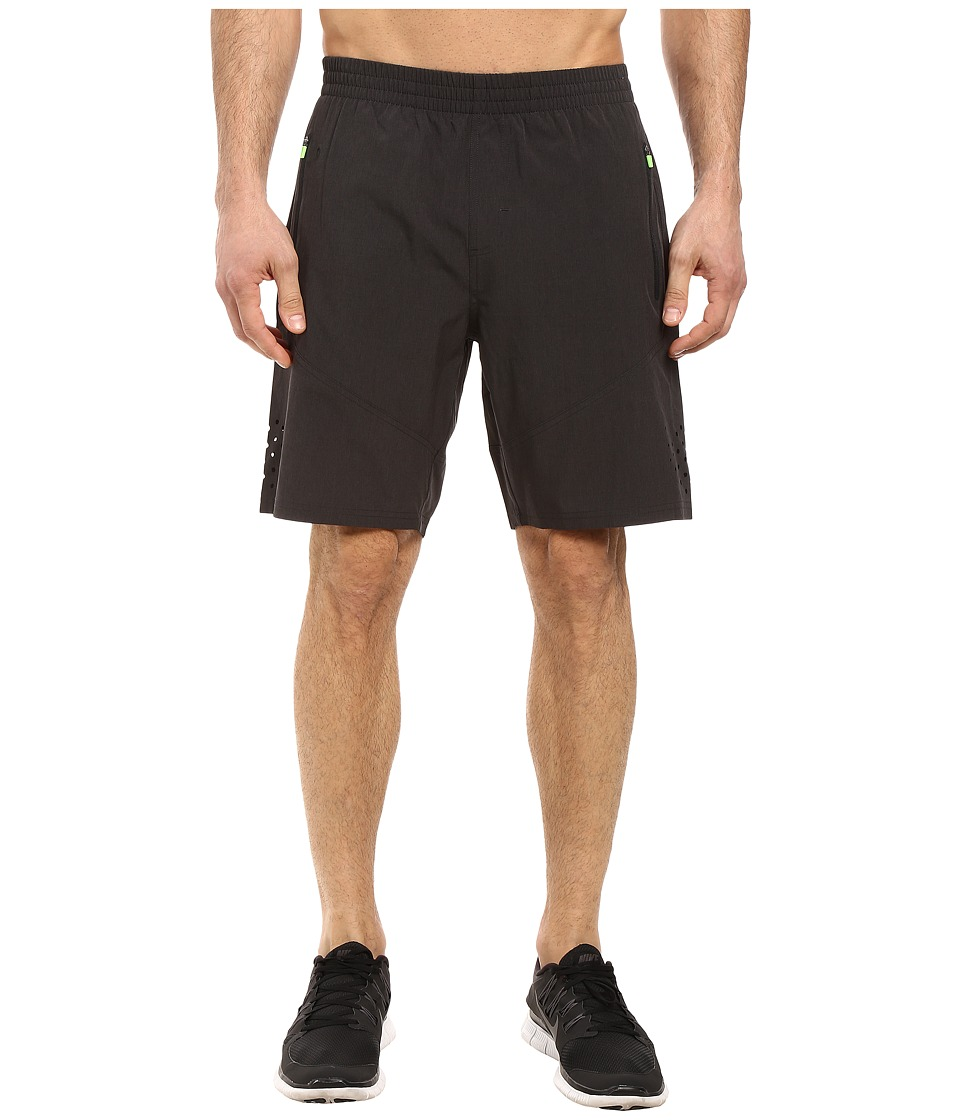2XU Urban Fit 9 Shorts (Black Marle/Gecko Glow) Men