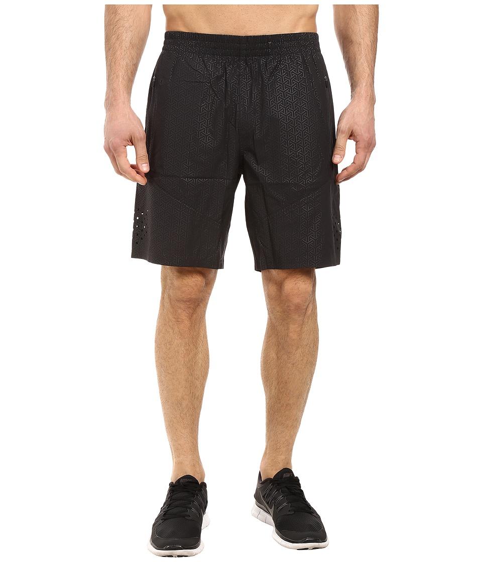 2XU - Urban Fit 9 Shorts (Embossed Black Dot/Black) Men's Shorts