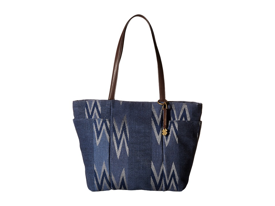 Lucky Brand - Bryn East/West Tote (Navy) Tote Handbags