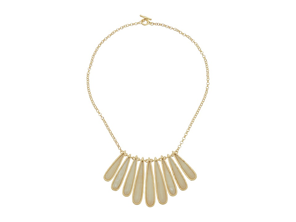 Karen Kane - Tidal Wave Statement Collar Necklace (Cream) Necklace