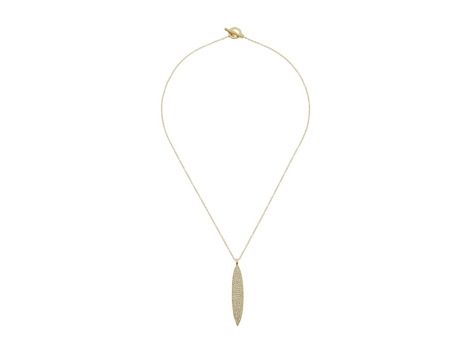Karen Kane - Organic Elements Reversible Pendant Necklace (Gold) Necklace