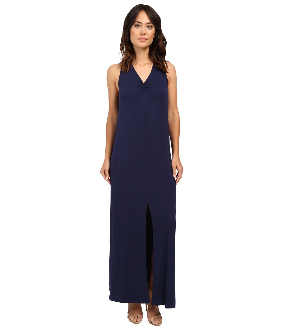 LAmade Lauren Halter Maxi Dress (Midnight) Women
