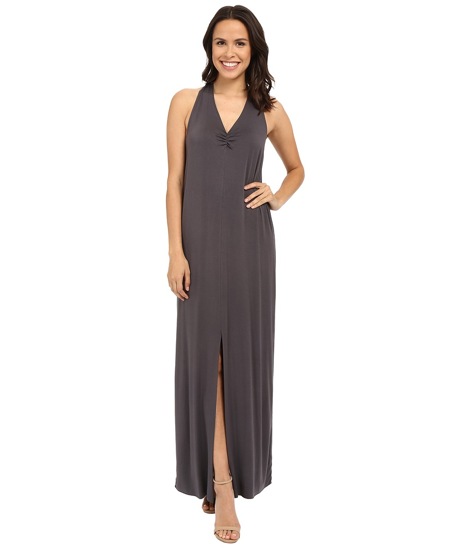 LAmade Lauren Halter Maxi Dress (Raven) Women