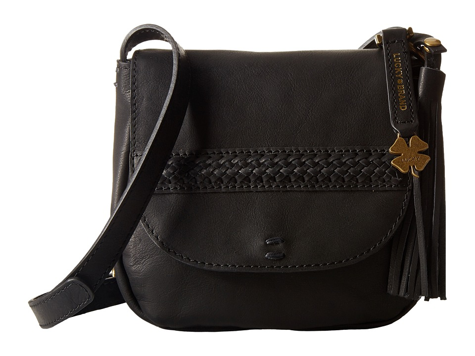 Lucky Brand - Sydney Crossbody (Black) Cross Body Handbags