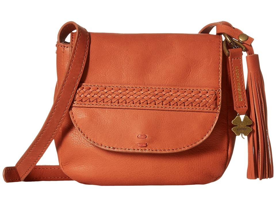 Lucky Brand - Sydney Crossbody (Terracotta) Cross Body Handbags