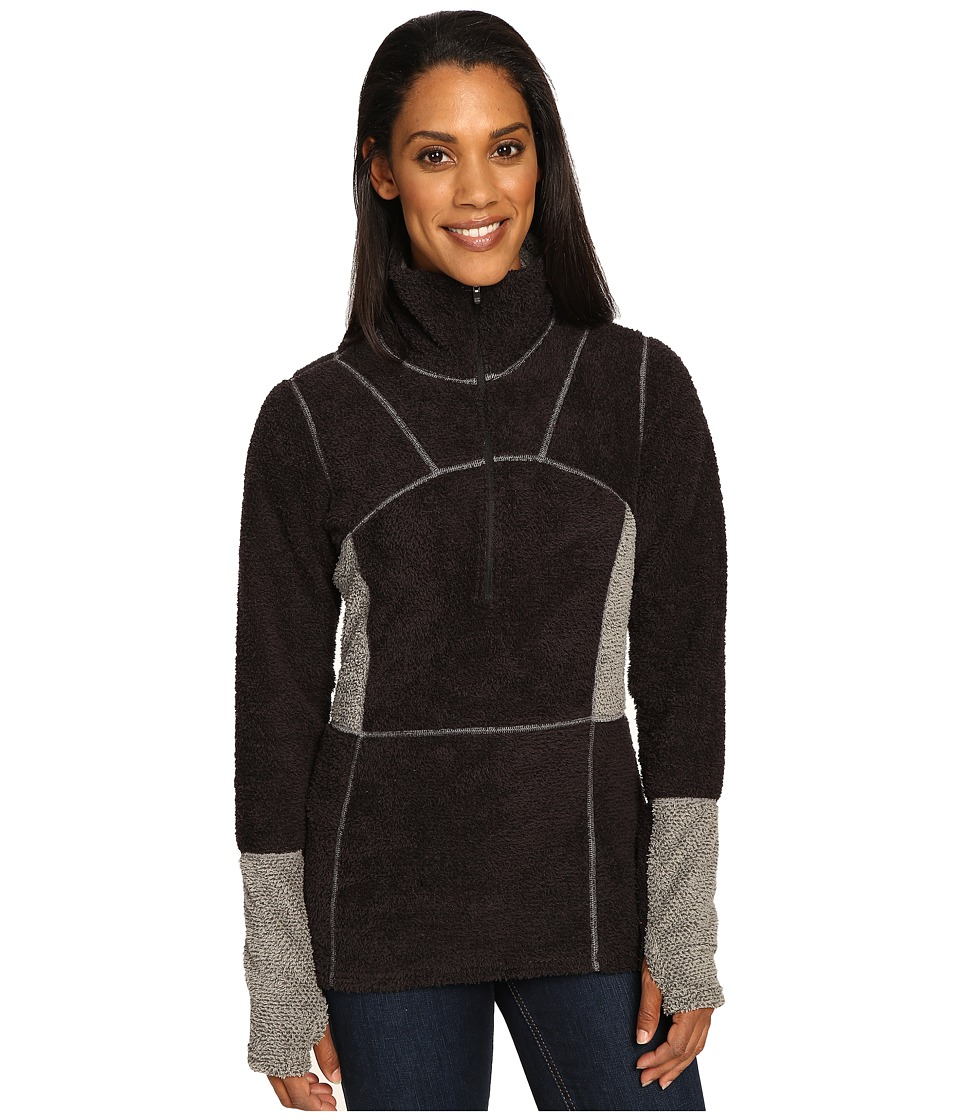 Hot Chillys - Pico Half Zip (Black) Women's Clothing