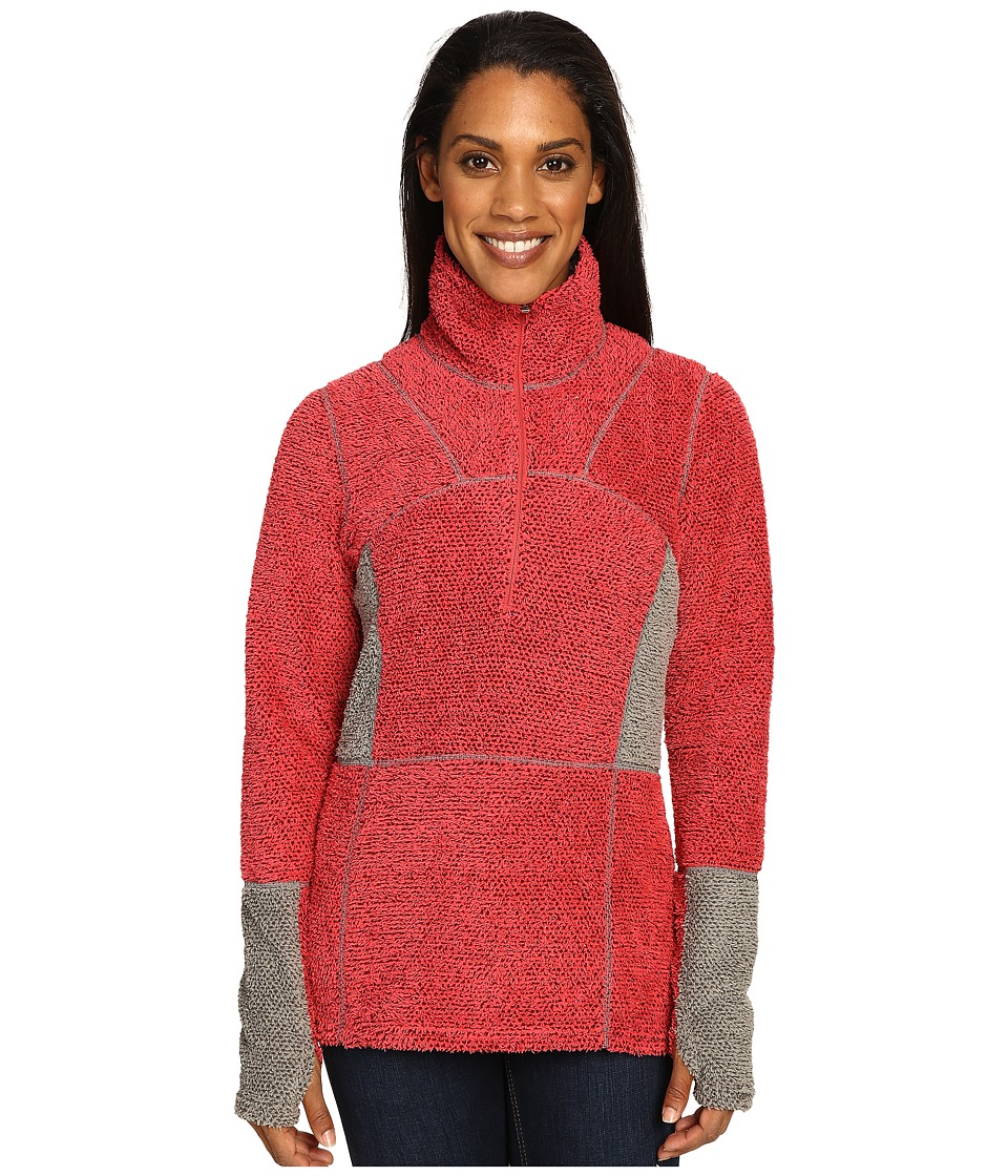 Hot Chillys - Pico Half Zip (Rose) Women's Clothing