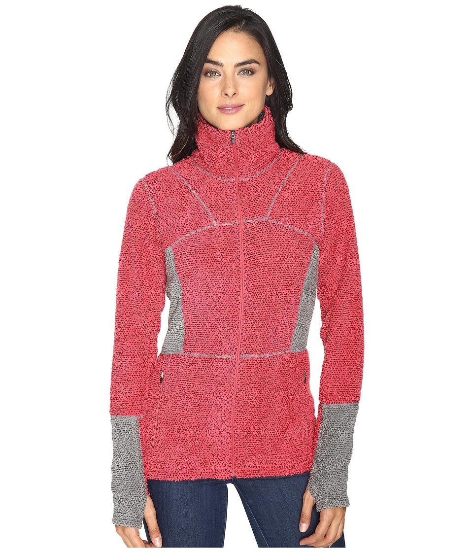 Hot Chillys - Pico Full Zip Jacket (Rose) Women's Jacket