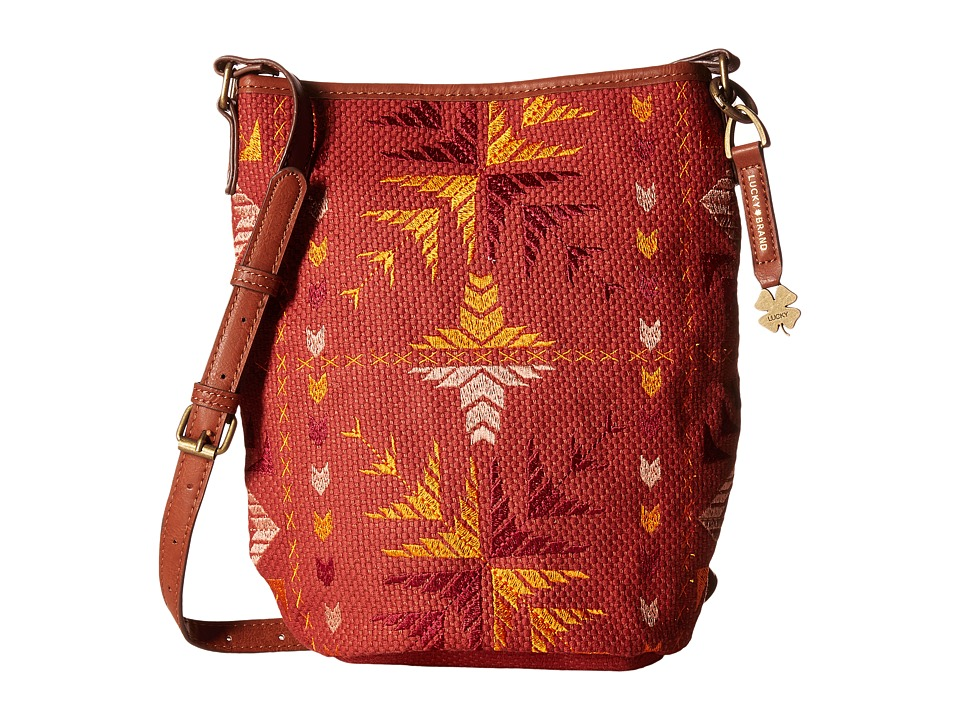 Lucky Brand - Asha Bucket (Bright Multi) Handbags