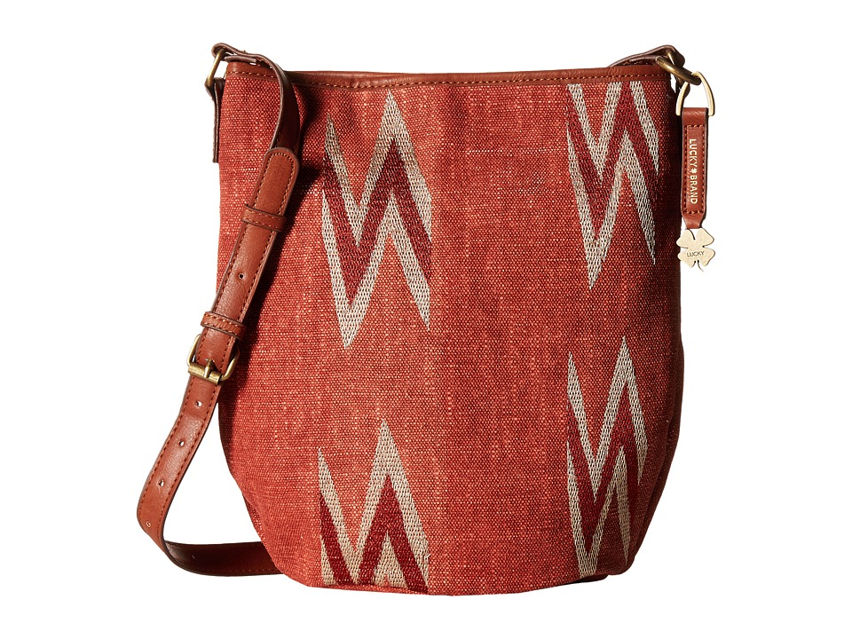 Lucky Brand - Bryn Bucket (Terracotta) Handbags