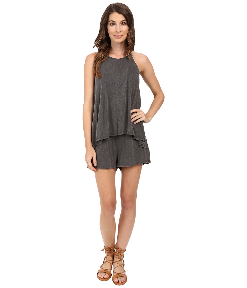 LAmade - Sisi Romper (Raven) Women's Jumpsuit & Rompers One Piece