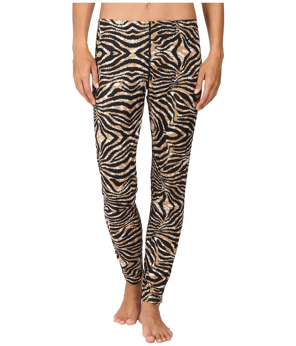 Hot Chillys - Peach Print Bottom (Tiger) Women's Outerwear
