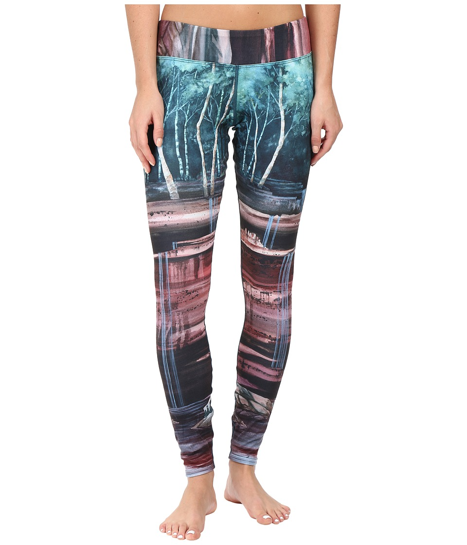 Hot Chillys - MTF Sublimated Print Tight (Cascades) Women's Outerwear