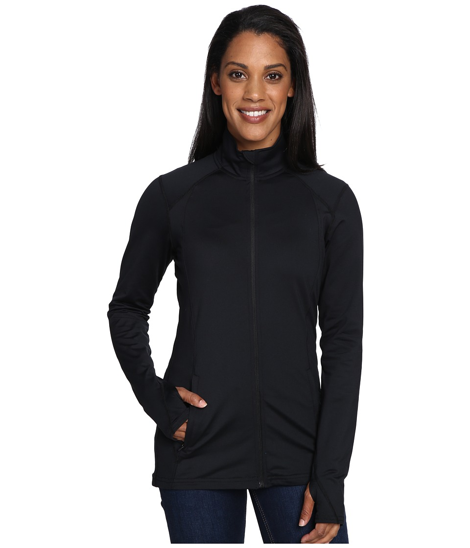 Hot Chillys - MTF Flex Jacket (Black/Black) Women's Coat