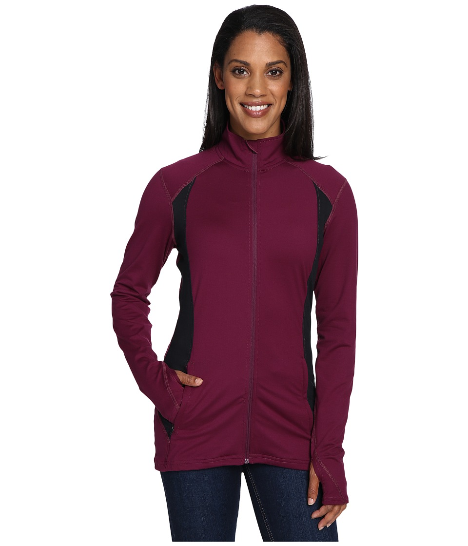 Hot Chillys - MTF Flex Jacket (Viola/Black) Women's Coat