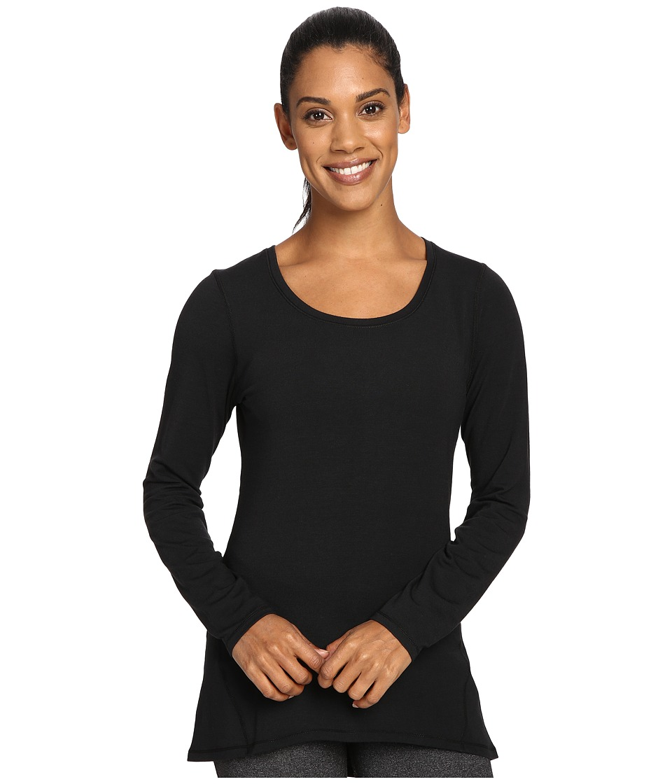 Hot Chillys - MTF Solid Tunic (Black) Women's Clothing