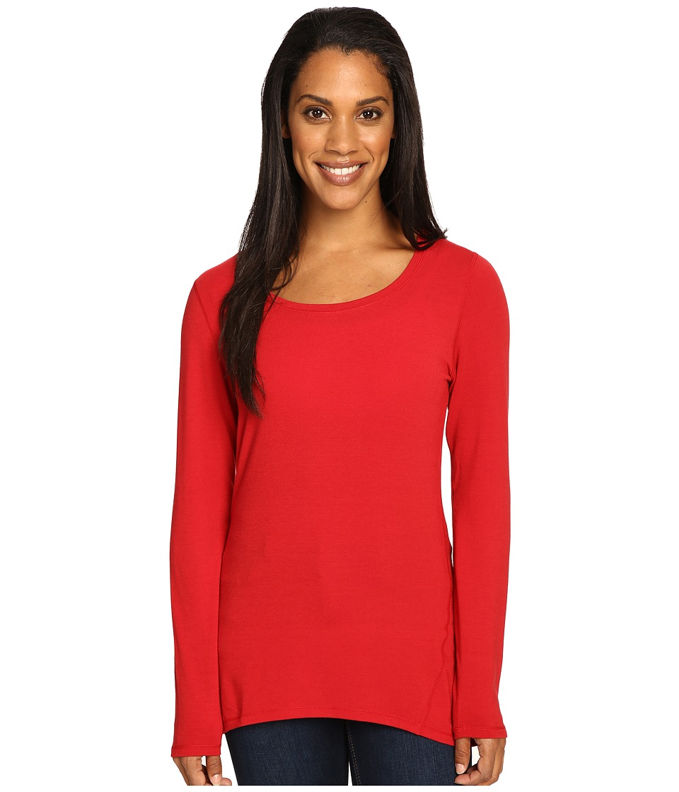 Hot Chillys - MTF Solid Tunic (Crimson) Women's Clothing