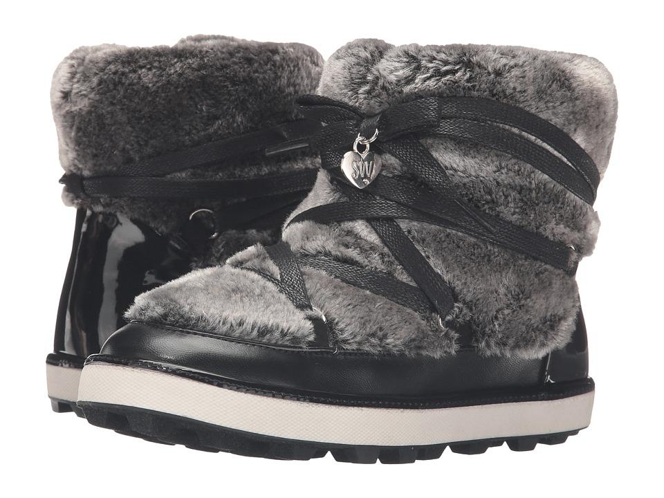Stuart Weitzman Kids - Ariana Snow Boot (Little Kid/Big Kid) (Black) Girls Shoes