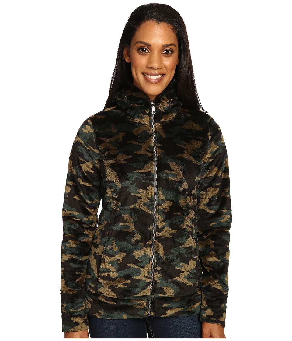 Hot Chillys La Reina Print Zip Hoodie (Houlihan) Women