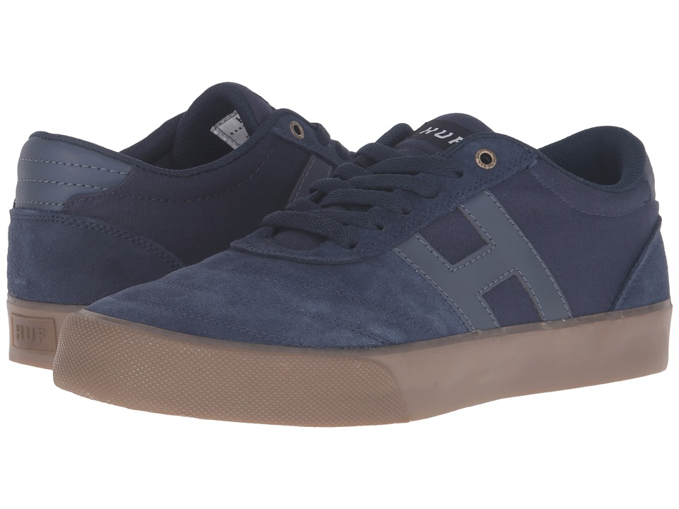 HUF - Galaxy (Indigo/Gum/3M) Men's Skate Shoes