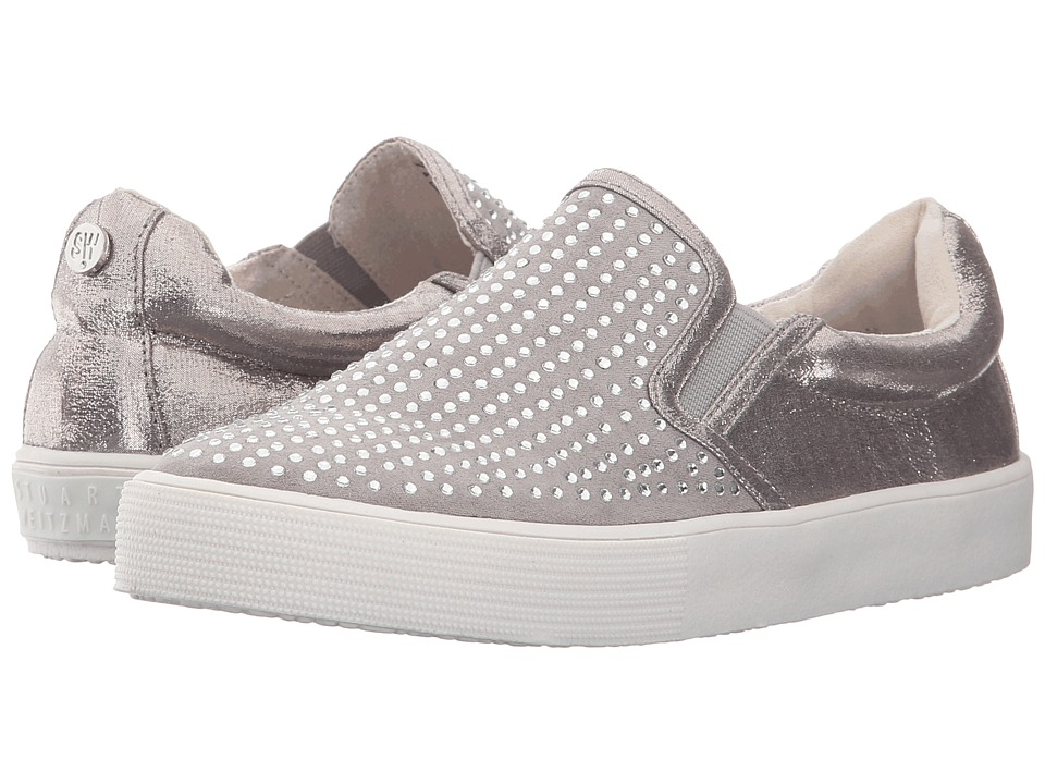 Stuart Weitzman Kids - Vance Bling (Toddler/Little Kid/Big Kid) (Pewter) Girl's Shoes