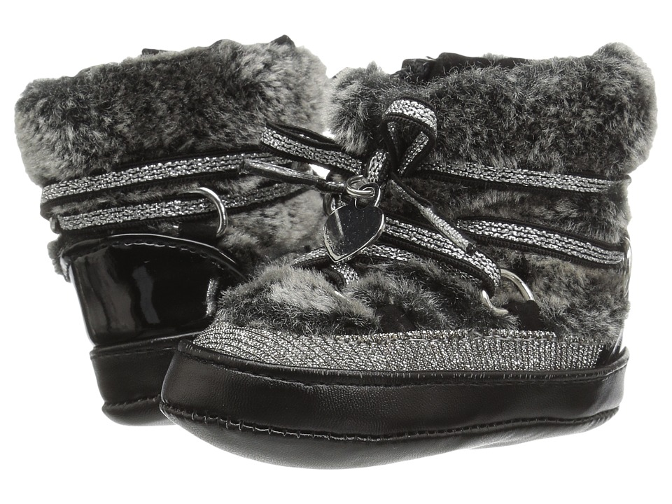 Stuart Weitzman Kids - Snow Boot (Infant/Toddler) (Black) Girl's Shoes