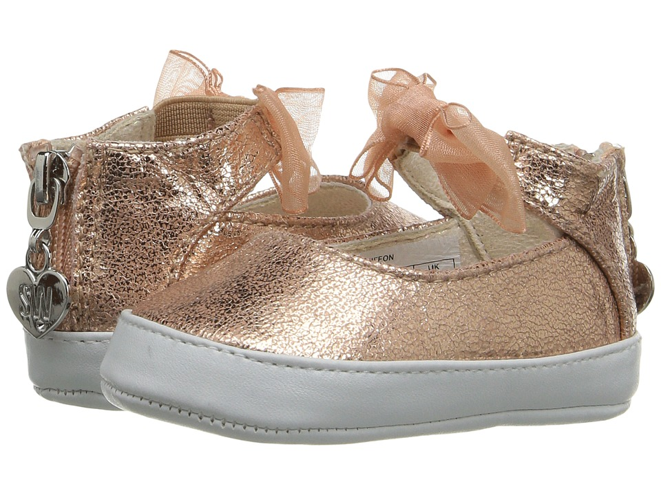Stuart Weitzman Kids - Chiffon (Infant/Toddler) (Rose Gold) Girl's Shoes