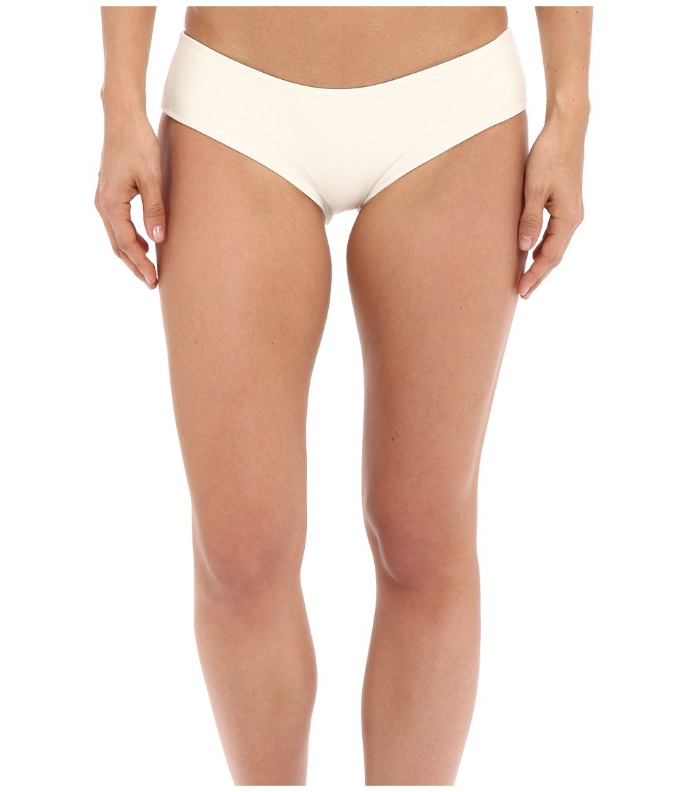 MIKOH SWIMWEAR - Bondi Medium Coverage Bottom (Bone) Women's Swimwear