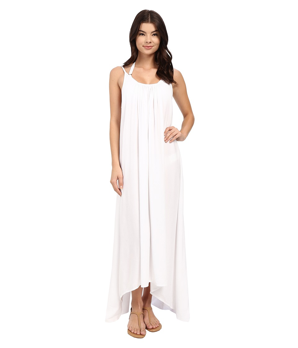 MIKOH SWIMWEAR - Biarritz Dress Cover-Up (Foam) Women's Swimwear