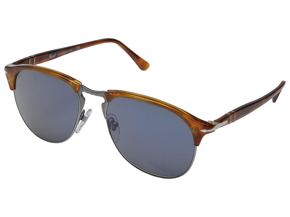 Persol - 0PO8649S (Havana/Green) Fashion Sunglasses