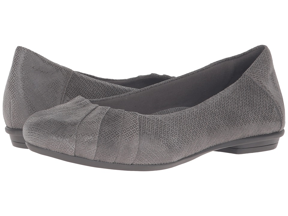 Earth - Bellwether (Dark Grey Print Suede) Women's Shoes