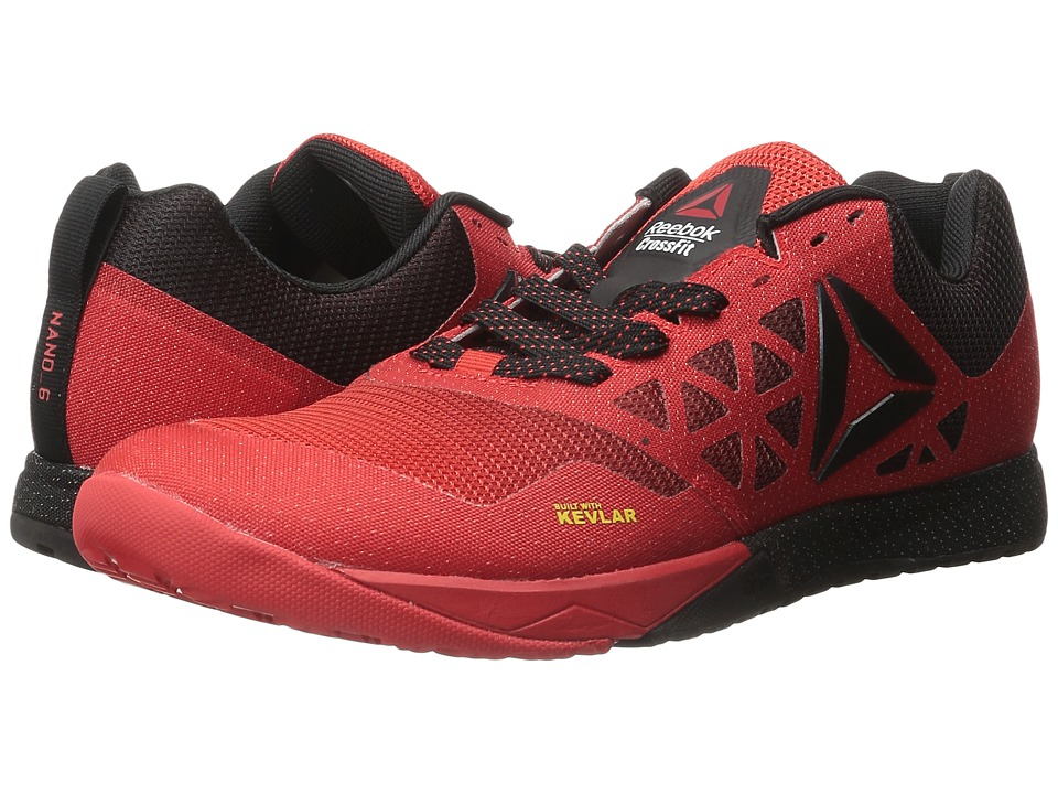 Reebok - Crossfit Nano 6.0 (Riot Red/Black/Pewter) Men's Cross Training Shoes